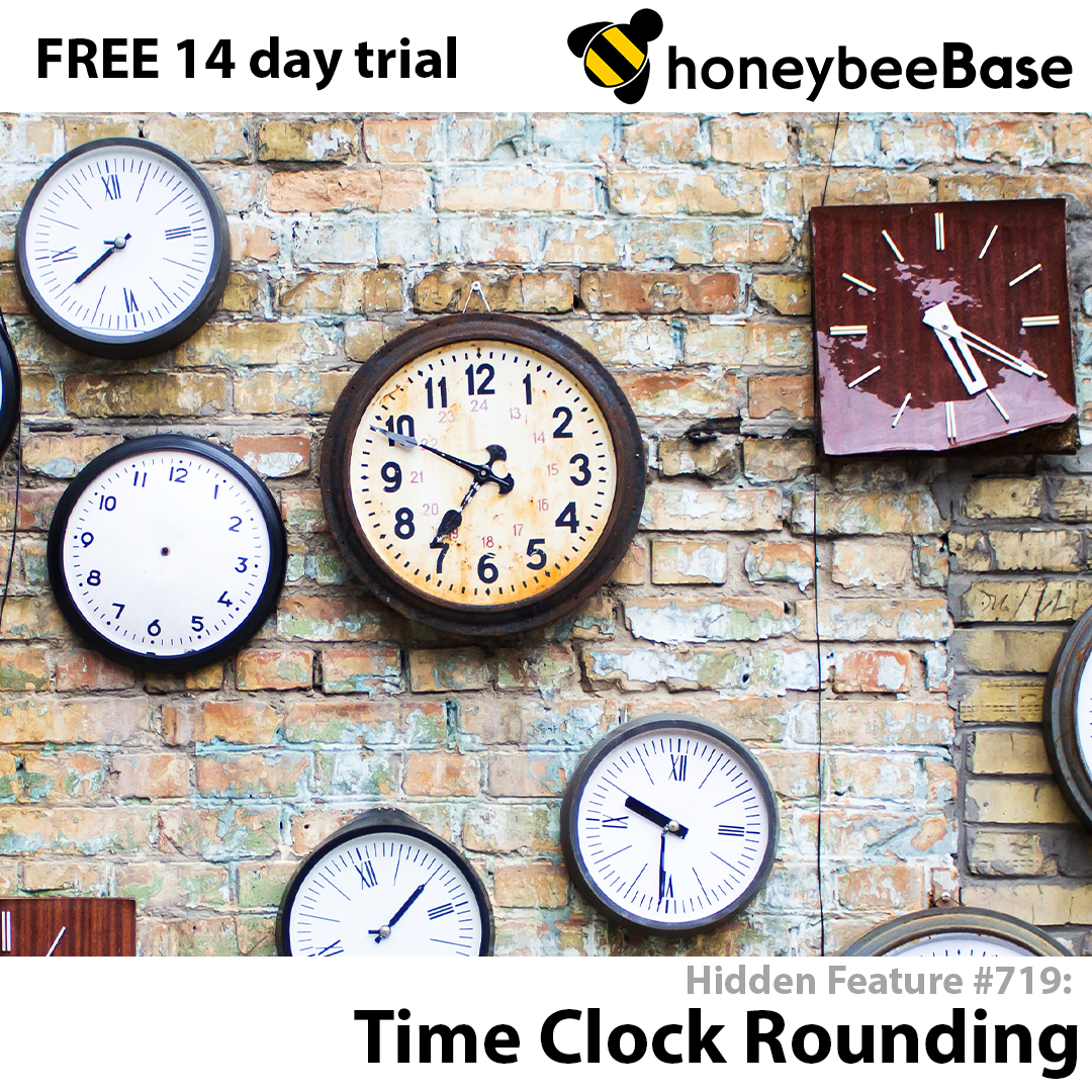Unlocking the honeybeeBase Potential: Time Clock Rounding